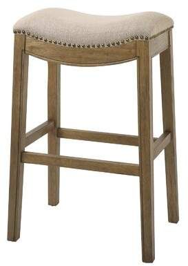 Charlton Home Mchaney Saddle Style 30 Bar Stool In 2020