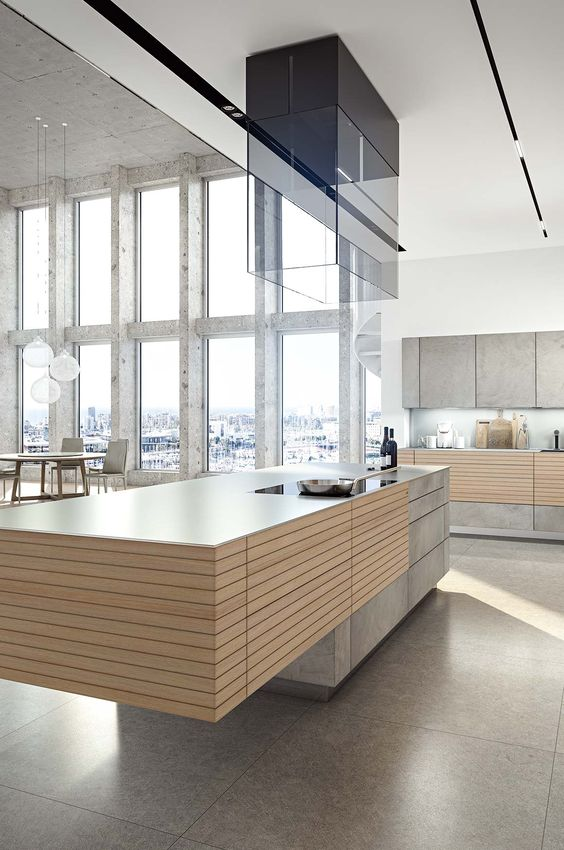 Woodlineone + Forum Stucco superhell II Zeyko kitchens - küchenstudio kirchheim teck