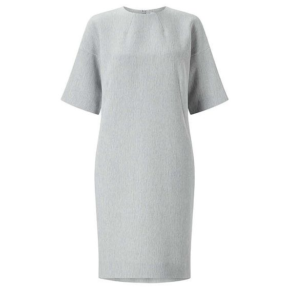 BuyKin by John Lewis Wide Sleeve Dress, Grey, 8 Online at johnlewis.com