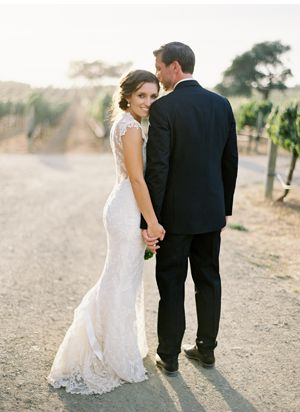 Claire Pettibone 'Chantily' wedding gown worn by a real bride - http://www.clairepettibone.com/bridal/?cp=gowns/chantilly - Photo: @jose villa for @Once Wed