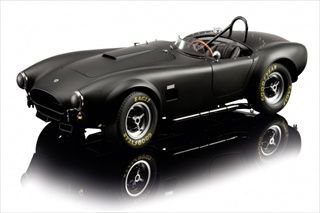 Schuco-Shelby Cobra AC289 Schuco   Shelby Cobra AC289 Black 1/12 Limited Edition 1 of 500 Produced Worldwide.
