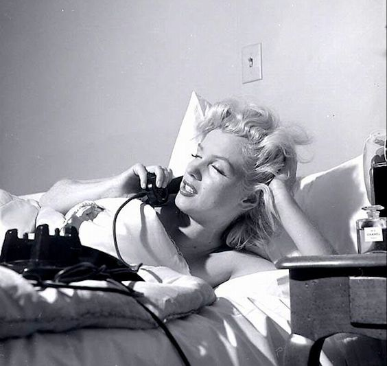 """Marilyn Monroe famously said in an interview in 1952 that she wore """"five drops of Chanel No. 5"""" and nothing else in bed. """"I don't want to say nude,"""" she said, """"but it's the truth."""""""