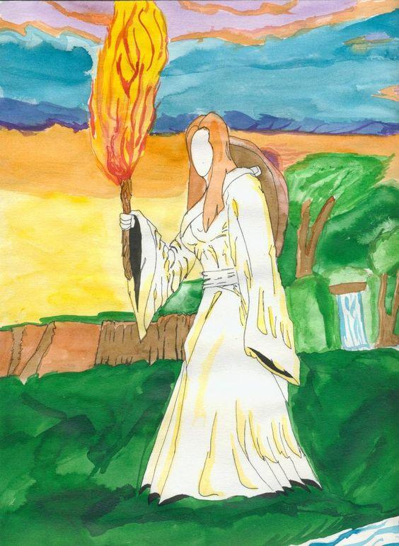 Damona Déesse Mère des Celtes