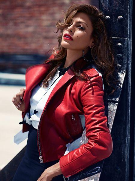 Eva Mendes в фотосессии by Patrik Sehlstedt для ноябрьского выпуска журнала Glamour France