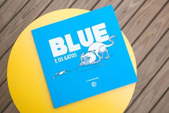 Livro Blue e os Gatos