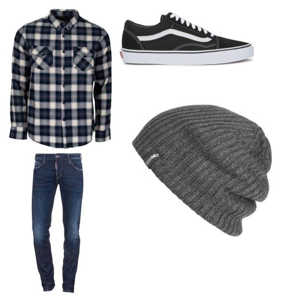 """Untitled #603"" by jamiesowers14 on Polyvore featuring United by Blue, Dsquared2, Vans, Outdoor Research, men's fashion and menswear"