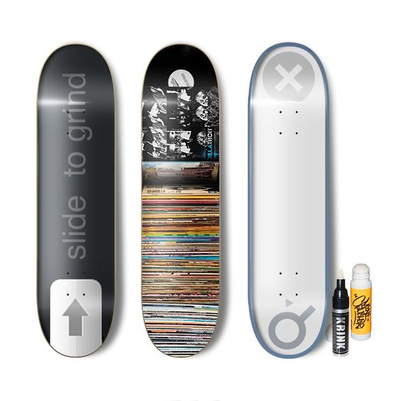 Cool skateboard graphics