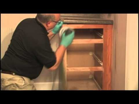 Furniture Medic Refinishes Fire Damaged Cabinets #furnituremedic  #furniturerestore