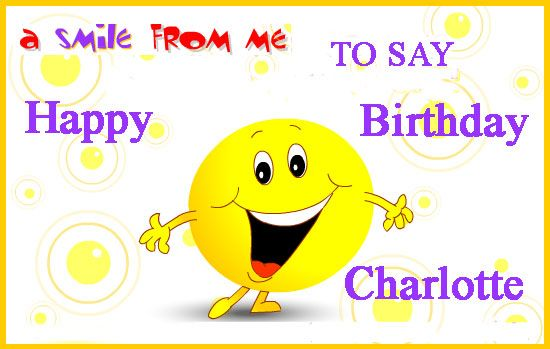 The Best Happy Birthday Charlotte Funny Images