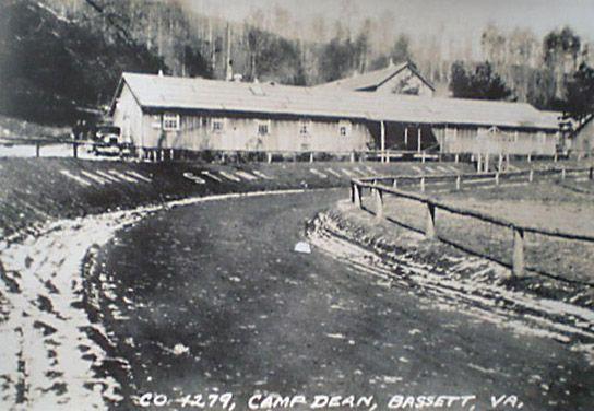 CCC Camp Dean Near Bassett VA
