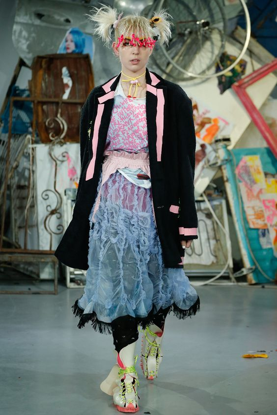 Meadham Kirchhoff Spring 2015 Ready-to-Wear - Collection - Gallery - Look 1 - Style.com