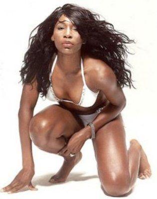 Venus Williams. my husband will appreciate this pick.