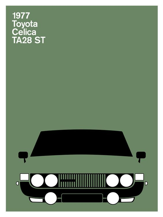 Print Collection - Toyota Celica TA28 ST, 1977