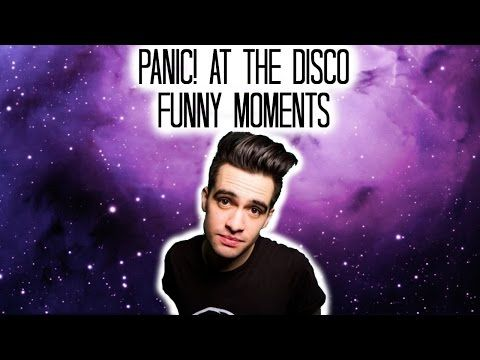 Panic At The Disco Funny Moments Funny Moments In This Moment Disco