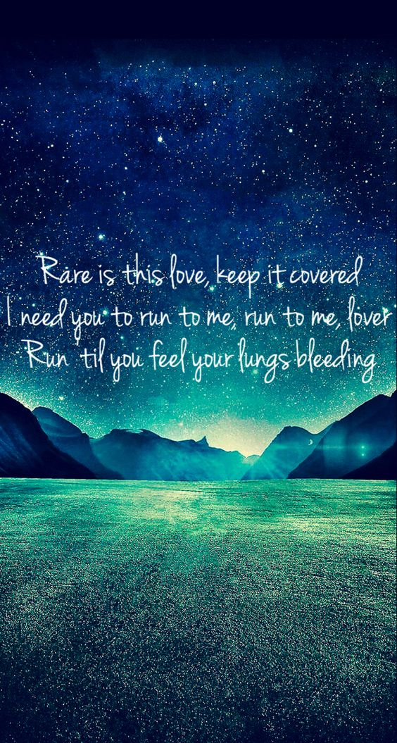 Hozier! Most beautiful lyrics on this album!