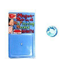 Magnetic Monroe Labret Nose Ear Stud Ring 3mm Aqua Gem NRB. Save 40 Off!. $5.99
