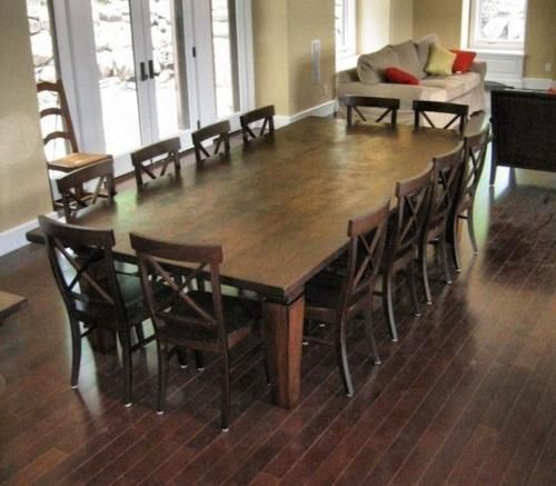 10 Seater Dining Table With Bench Redboth Com In 2020 10 Seater Dining Table 12 Seat Dining Table Large Dining Room Table