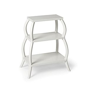 Curvee Shelf Table from Serena & Lily. Girl's room. Traditional nursery.