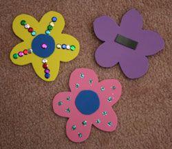 Flower Magnet Craft