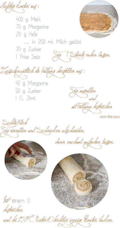 Rezept für schwedische Zimtschnecken