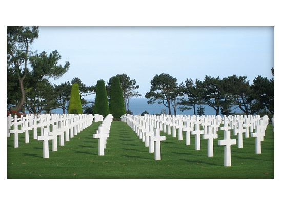 i want to visit the beaches of Normandy