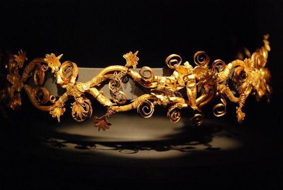 Macedonian Gold - Thessaloniki Museum diadem