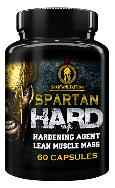 Spartan Hard, Hardening Agent, Lean Muscle Mass by Sparta Nutrition - 60 Caps