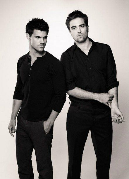 Taylor Lautner & Robert Pattinson