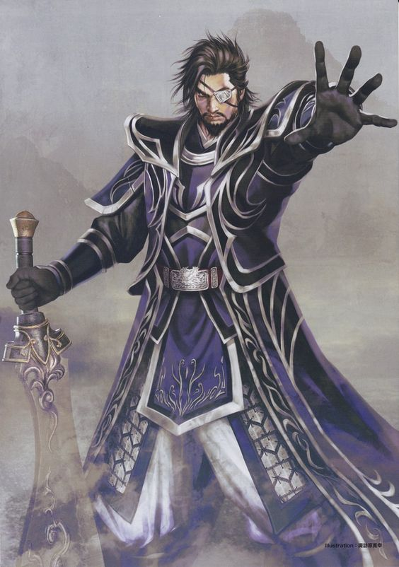 Xiahou Dun - Dynasty Warriors
