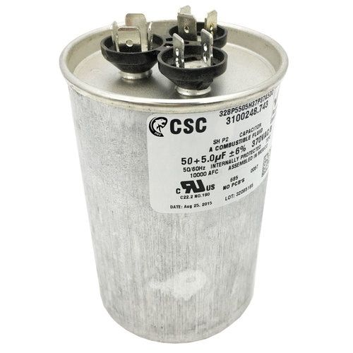 Dometic Duo Therm 3313107 018 Air Conditioner Motor Run Capacitor 50 5 Mfd Air Conditioner Replacement Capacitors Air Filter Lights