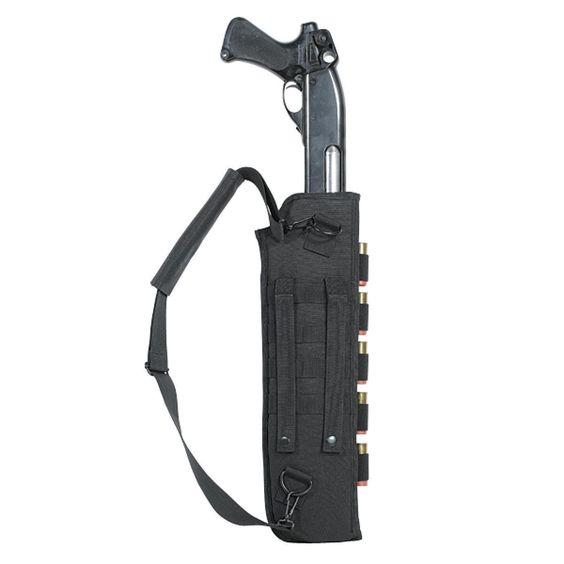 Amazon.com : Voodoo Tactical Breachers Shotgun Scabbard - Black 20-891601000 : Gun Slings : Sports & Outdoors