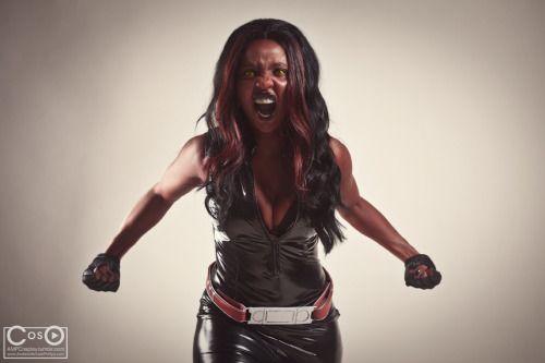Red she hulk - Sherita Dunbar by moshunmanLook What the Kat...
