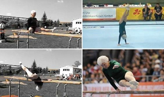 86 year old grandma steals the show at gymnastics champs click and watch her video performance!
