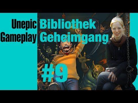 LetsPlay #Unepic #9: #Geheimgang in #Bibliothek (dunkelbraun / östlicher Bereich) [DE / ENGL] - YouTube #gameplay