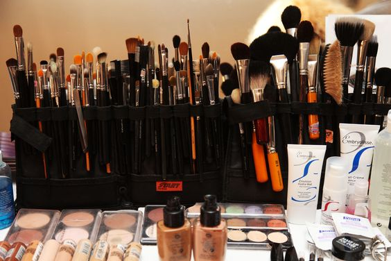Fully Stocked! @MAKE UP FOR EVER OFFICIAL #MBFWSwim 2013