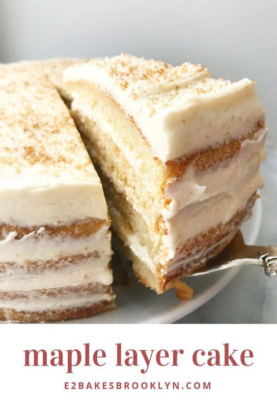 Maple Layer Cake