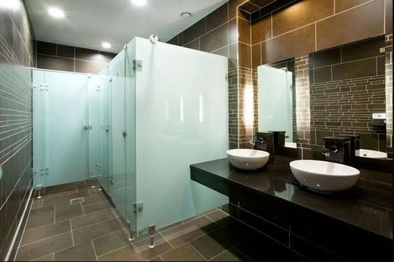Ideas for commercial bathroom stall dividers bathroom tips guide restrooms pinterest - Commercial bathrooms designs ...