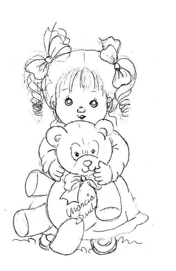 Pin Do A Mariana Matias Em Desenhos Para Pintar: Ursos, Pintura And Ursos De Pelúcia On Pinterest