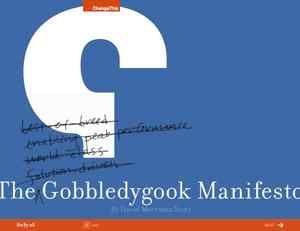 The Gobbledygook Manifesto: Case Studies, Branding Design, Design Typo, Books Worth, Infrastructure Manifestos, 2015 Amsterdam, Manifestos Principles, Content Marketing, Free Marketing Ebooks