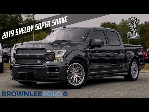 2019 Shelby Super Snake F 150 For Sale 755 Horsepower Magnetic