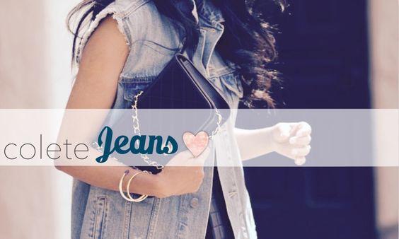 Veja 3 #looks super diferentes para você montar com coletes #jeans e estar sempre linda!  Tá no #blog >> http://goo.gl/dv1mDU  #fashion #moda #denim #itgirl #girls