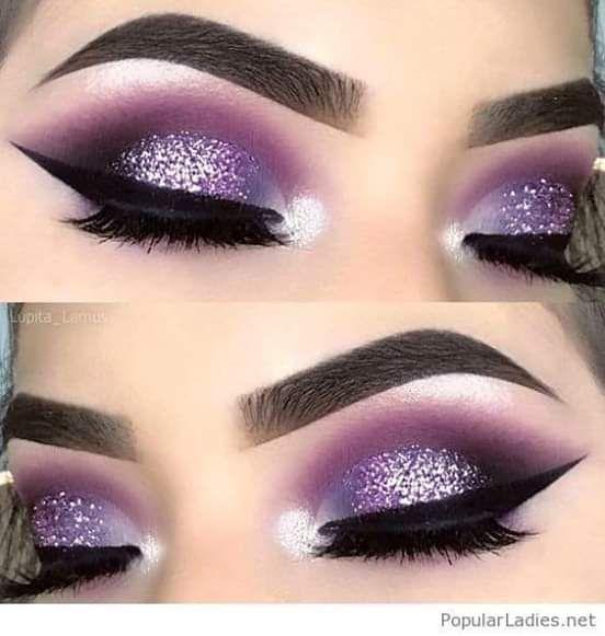 Pin By Sarah Perez On Makeup Looksss Smoke Eye Makeup Glitter