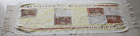 Shawl by mexican artist Raffaela Bianchi. #CharityCoalition #HandpaintedShawls #Causeanimpact #HelpUs #HelpThem