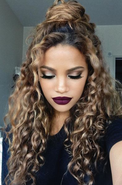 Curly ombre hair google search beauty pinterest ombre hair love her curls hair color urmus Images