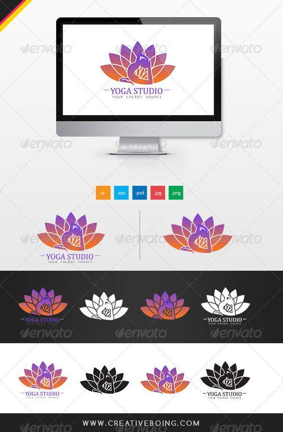 Yoga Studio Logo - Logo Templates