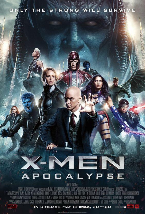 8/11 X-Men: Apocalypse / X-MEN: アポカリプス @TOHOシネマズ川崎(Scr.3 F-13)