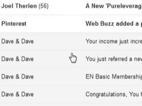 Pure Leverage is not competing with the two Daves.    http://pureleverageleader.com    Pureleverage is a marketing tools suite designed to enhance any online program or system not compete against them. If anything Pure Leverage was developed to compete against other companies which provide similar services such as Aweber, Getresponse, GoTo Meeting, ...
