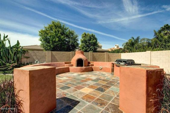 1688 W Yosemite Pl Chandler Az 85248 Ziprealty Outdoor Circular Patio Backyard