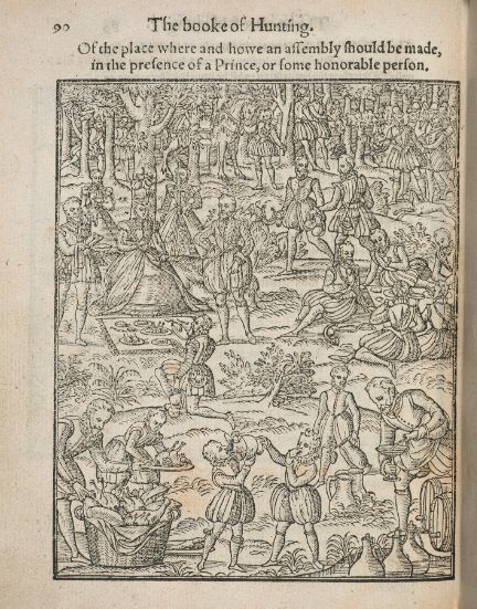 George Gascoigne, The Noble Arte of Venerie or Hunting (London, 1575).