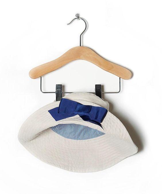 Amore di Mamma   Beige Floppy Sun Hat - Girls